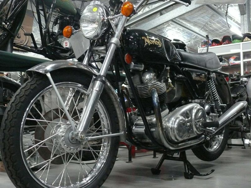 A Norton Commander at the National Motorcycle Museum in Nabiac