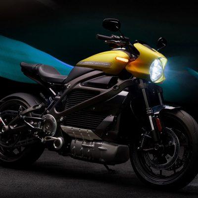 Harley LiveWire electric motorbike